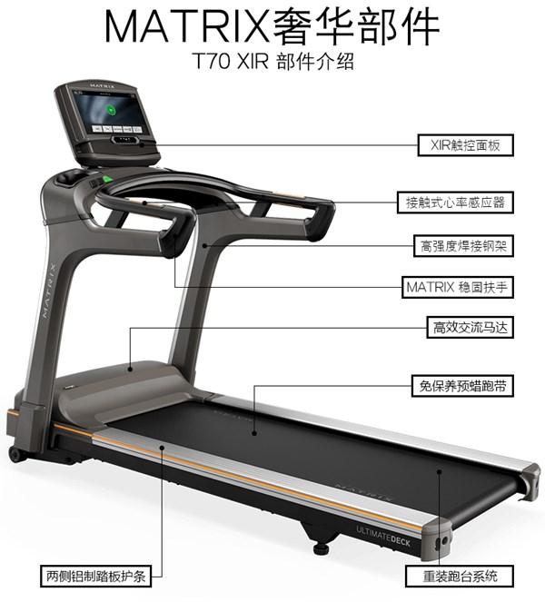 乔山 MATRIX T70 商用跑步机