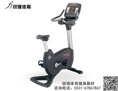 锐强体育推荐健身器材-立式健身车美国力健95C Achieve