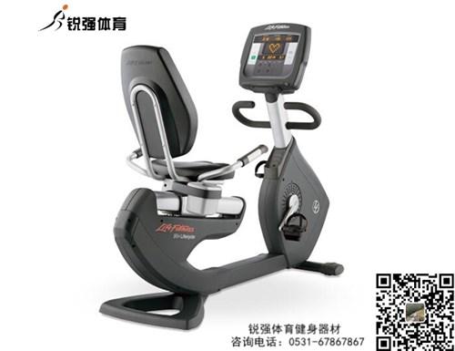 锐强体育推荐健身器材-卧式健身车美国力健95R Achieve