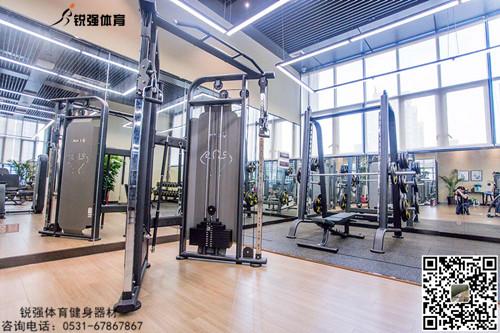 格力集团山东分公司单位健身房项目