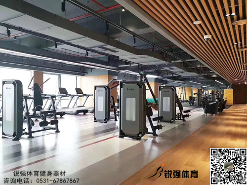 济南某大型银行健身房