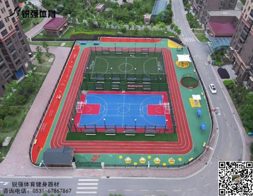 济南高新某小区活动健身中心