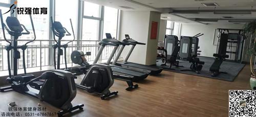 平安银行济南某分行的银行健身房