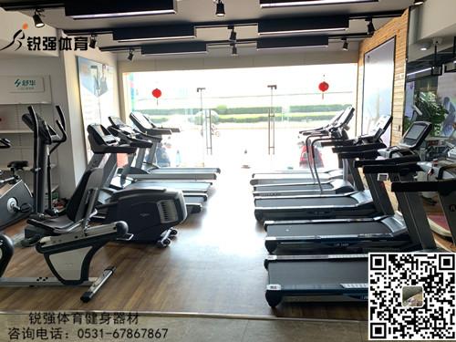 锐强体育旗舰店的跑步机和椭圆机