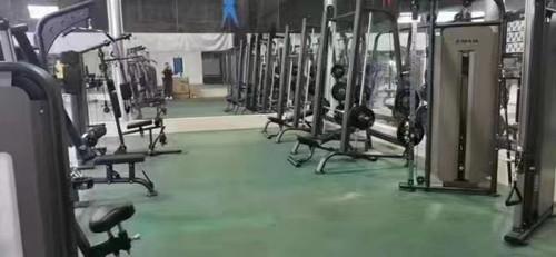 烟台某军警系统部队健身房