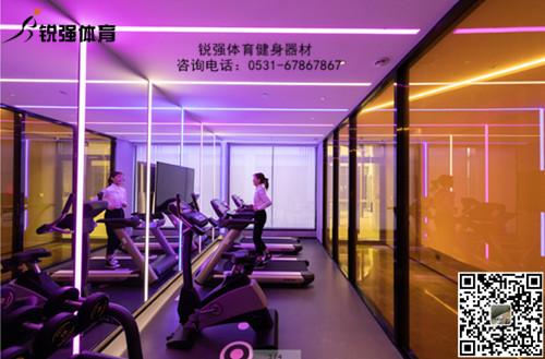 锐强体育提供的日照某酒店健身房解决方案