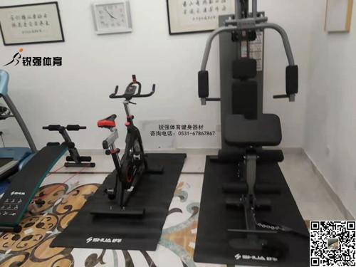 济南某别墅的私人健身房