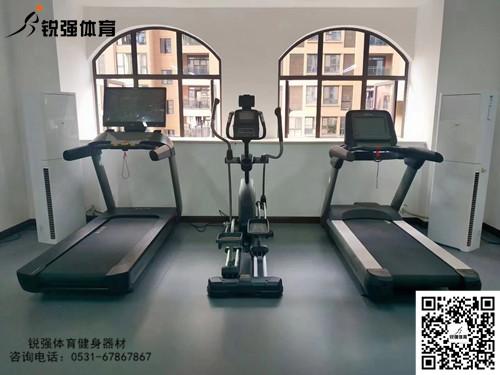 济南市中区某小区业主私家健身房