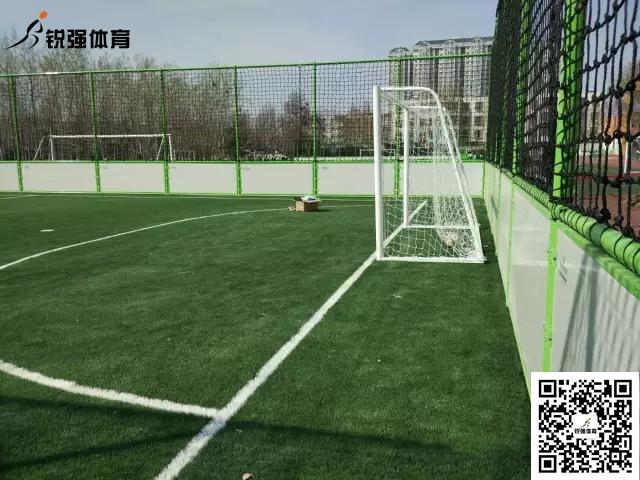 淄博市恒台县第二实验小学足球场