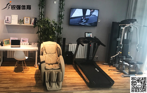锐强体育济南一位客户的私家健身房