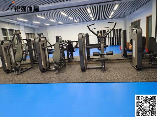 济南某单位健身房展示